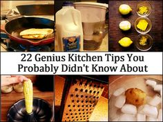 22 Genius Kitchen Tips You Probably Didn't Know About from Homemade Home Ideas