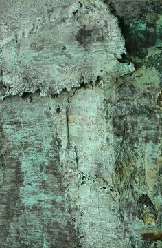 Lovely verdigris (oxidized copper) patina