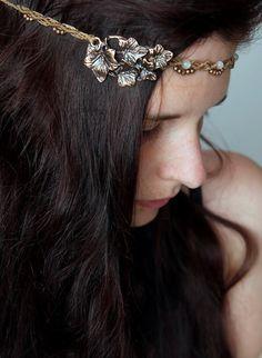 macrame headband with moonstone. Macrame Headband, Jewelry Crafts, Creations, Hair Beauty, Earrings, Clothes, Accessories, Fashion, Weddings
