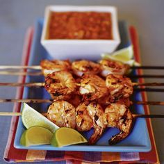 Deviled Shrimp - Grilled shrimp covered in zesty salsa makes a tasty main dish or impressive appetizer.