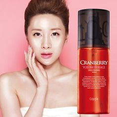 COREANA Edge Fit/ Cranberrie Volume Essence for Heart Face! Portable Spray 100ml