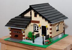 House 03: A LEGO® creation by d0ub13d . : MOCpages.com