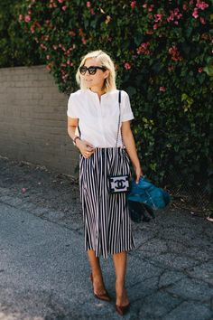 Damsel in Dior | Running with Stripes