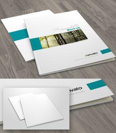 Free A4 Brochure / Magazine Cover Mockup