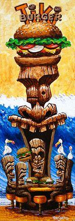 Check out the wild and crazy tiki art at Trey Surtees (treysurtees.com) website!!!