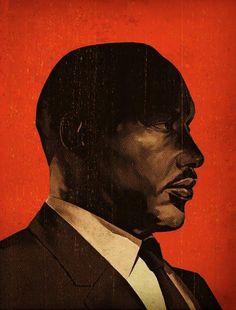 Martin Luther King, Jr. by Tavis Coburn