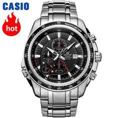 77a0dcce09d1 Casio nuevos relojes de los hombres de negocios de moda de tiempo 100  metros resistente al
