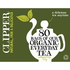 6 PACK  Clipper  Organic Everyday Tea  80 Bag  6 PACK BUNDLE ** Be sure to check out this awesome product.