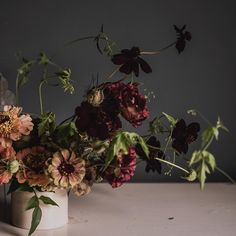 Autumn florals by Ruby & The Wolf