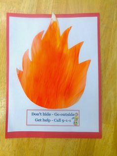 Terrific Preschool Years: Learing about fire safety