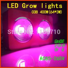 Factory direct sale The new 400w cob led grow light, full spectrum led grow lights Specially for Greenhouse Hydroponics Systems