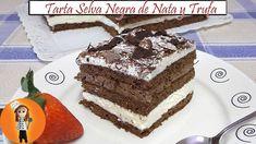 Tarta Selva Negra de Nata y Trufa   Receta de Cocina en Familia