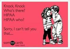 Hipaa Knock-Knock Joke #dentalhumor Brent R. Humphrey DMD, P.A.   #GooseCreek   #SC   http://drbrentkidsdentist.com/