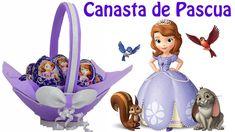 Como hacer  Canasta de Pascua de Princesita Sofia | El Mundo de MyG