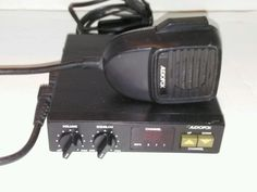 Audiovox 40 Channel CB Radio Model MCB-17 Tested Works #Audiovox