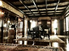 Want to experience time travel? Visit Moody Mansion!