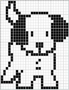 - - - Puppy Ann's Cross-Stitch Patterns Trendy Ideas For Crochet Patterns Tapestry Knitting Charts Dog Paw This Pin was discovered by Pat - Dianes Crafting headDog head Miffy Nijntje perler bead pattern Gattino - S. C2c Crochet, Tapestry Crochet, Crochet Chart, Filet Crochet, Knitting Charts, Knitting Stitches, Baby Knitting, Knitting Patterns, Embroidery Stitches