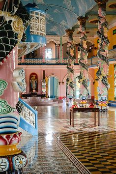 Cao Dai Temple - Ho Chi Minh City, Vietnam