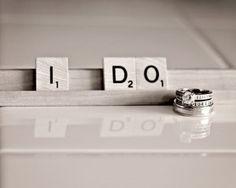 Wedding Photography ideas #wedding #photography #scrabble