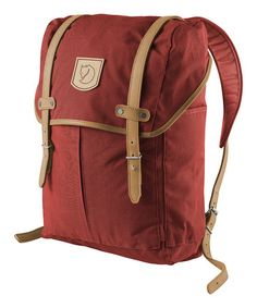 Take a look at this Red No.21 Medium Backpack by Fjällräven on #zulily today!