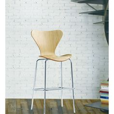 Jay Bar Stool is great for homes and business use. With its simple shape the chair is sure to provide great comfort wherever used.