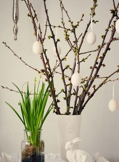 Easter In Scandinavian Style: 45 Natural Ideas | DigsDigs