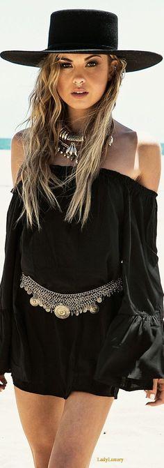 fashionable black
