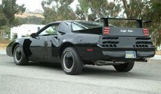 Knight Rider KITT in Super Pursuit Mode, that was first introduced in the show's fourth and final season in 1985.