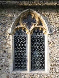 """Gothic church window"" by Katie N Gothic Windows, Church Windows, Gothic Interior, Gothic Home Decor, Window Art, Bay Window, Stained Glass Art, Stained Glass Windows, Frames On Wall"
