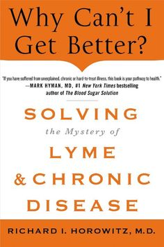 The most brilliant doctor I have EVER seen. Everyone, especially medical professionals must read this book! If you suffer from chronic illness I can't stress enough how much this book will change your life!! Dr. Horowitz is amazing!