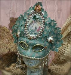 Mask A mermaid Fair by sweetruin on Etsy