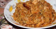 Капуста, тушенная с мясом - пошаговый рецепт с фото. Калорийность: 308 ккал. Автор: Сергей