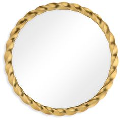 Jonathan Charles 45'' Twisted Mirror Furniture Sale, Antique Gold, Home Furnishings, Home Furniture
