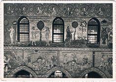 MONREALE - Interno Duomo - Adamo ed Eva - Mosaici (Sec. XII) - 1956