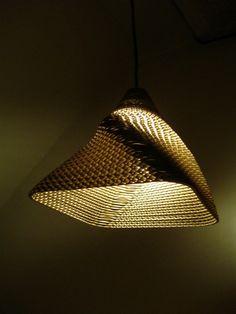 Minimalist Geometric Paper Lamp