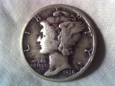 Dimes: See How Much A Mercury Dime From 1916 To 1945 Is Worth Little-known facts about mercury dimes and what the mercury dime is worth these days.Little-known facts about mercury dimes and what the mercury dime is worth these days. Old Coins Value, Old Coins Worth Money, Valuable Coins, American Coins, Error Coins, Coin Worth, Antique Coins, Rare Antique, Coin Values