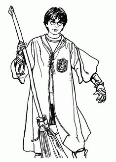 Best 30 Printable Harry Potter Coloring Pages | Free coloring ...
