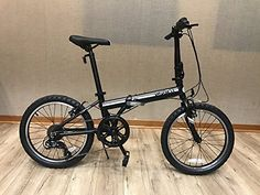 "EuroMini Campo 20"" Compact Folding Bike-Lightweight Affordable Aluminum Frame Genuine Shimano 7-Speed 28lb ** Check out this great product."