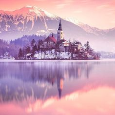 Lake Bled - Slovenia ✨✨ Picture by ✨✨@ilhan1077✨✨