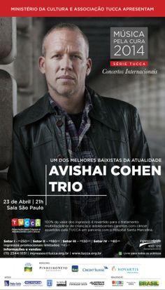 Avishai Cohen se apresenta em São Paulo