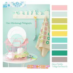 Colour Palette - Pastels!