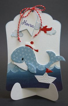 Pop Up Cards, Cool Cards, Diy Crafts Love, Marianne Design Cards, Hand Made Greeting Cards, Interactive Cards, Handmade Tags, Kids Birthday Cards, Shaped Cards