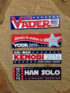 Obi-Wan Kenobi 2016... Our Only Hope Bumper by kariannkelly