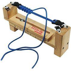 Jig Bracelet Maker Tool Parachute Cord Wood Craft Jewelry Making Tool Hook Art #Pepperell