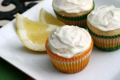 Lemon Drop Cupcakes (to induce labor?) – The Culinary Couple Cupcake Recipes, Baby Food Recipes, Cupcake Cakes, Dessert Recipes, Food Baby, Cupcake Ideas, Food Tips, Healthy Recipes, Labor Inducing Food