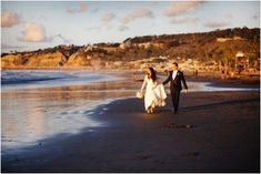 arah and Chris were married on the most perfect day on the beach at the La Jolla Shores Hotel.