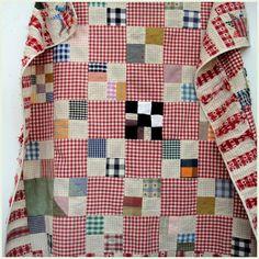 Gingham quilt … | Pinteres… : red gingham quilt - Adamdwight.com