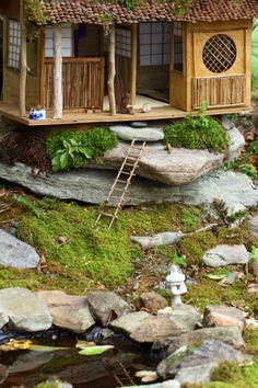 Japanese style Fairy house