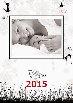 Fotokalendarz projekt izziBook.pl - szablon Black&White