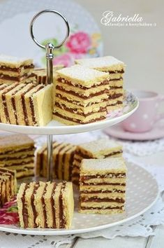 Gabriella kalandjai a konyhában :): Hatlapos Hungarian Cake, Hungarian Recipes, Cookie Desserts, Cookie Recipes, Dessert Recipes, Sweet Cookies, Cake Cookies, Cookie Time, Christmas Snacks